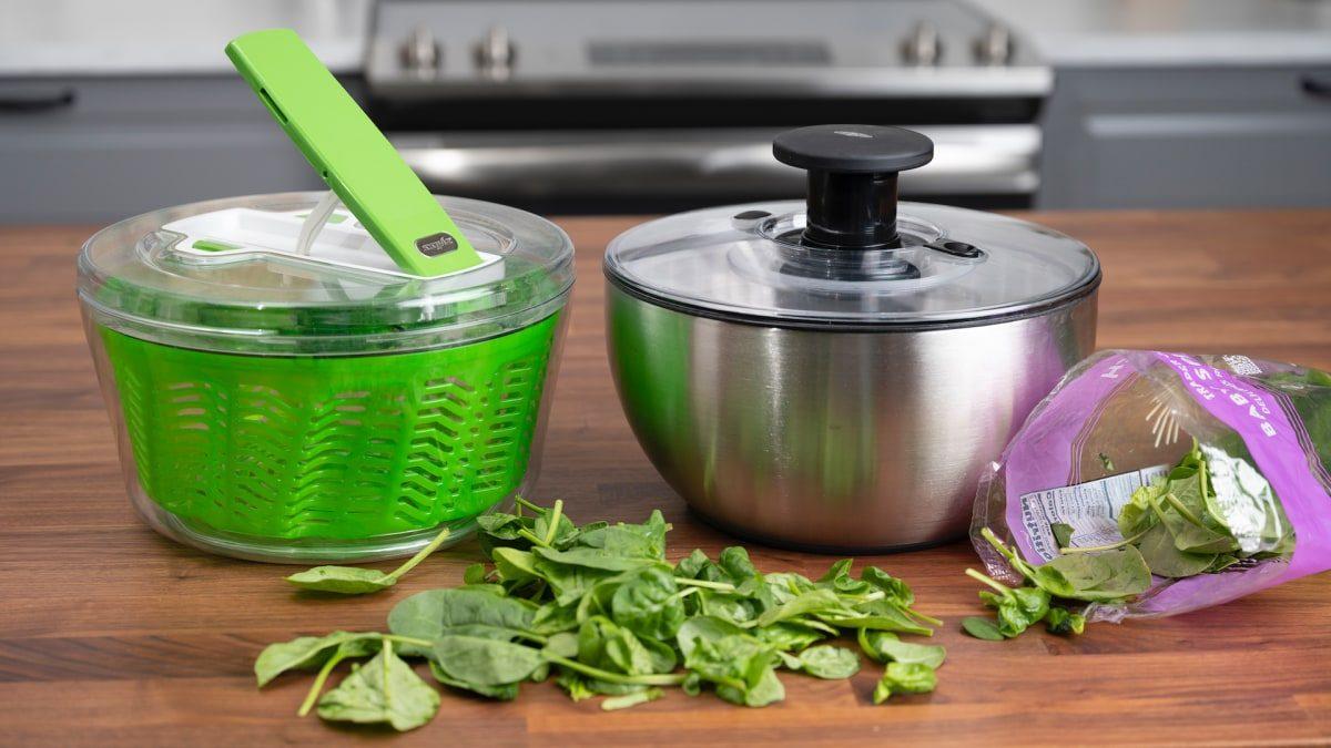 OXO Good Grips Salad Spinner- The Best Salad Spinner!