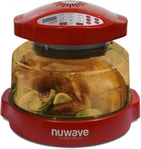NuWave Pro Plus Oven (Red) with Power Dome